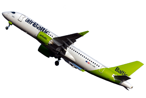 delay flight Air Baltic