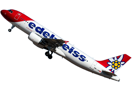 cancelled flight Edelweiss